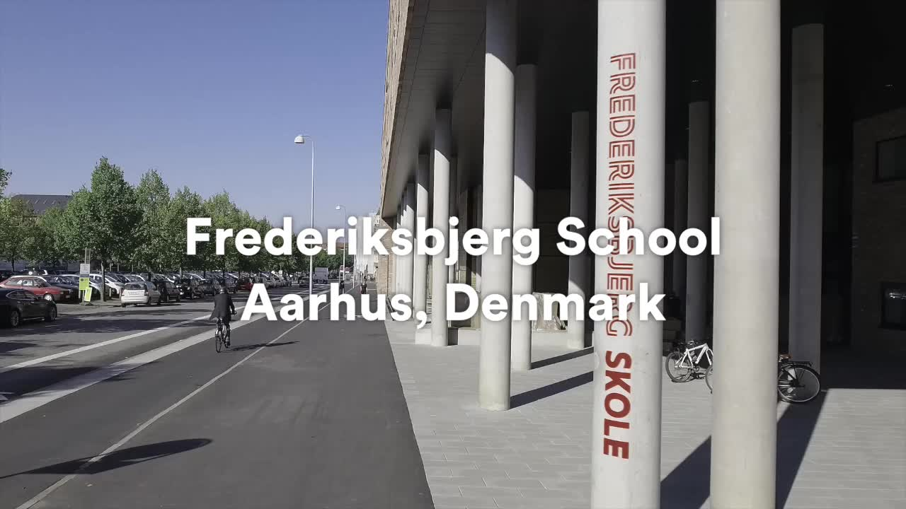 Henning Larsen on LinkedIn: Frederiksbjerg School is in motion! With more than 100 ways to move