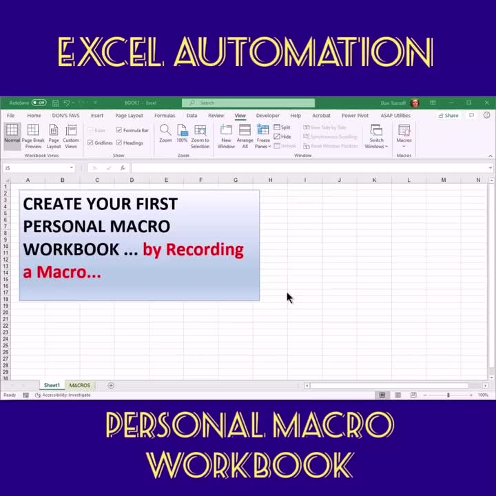 Don Tomoff, MBA, CPA on LinkedIn: #Excel #macro #Twinztalk
