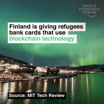 "Linas Beliūnas on LinkedIn: ""Finland🇫🇮 is giving refugees bank..."