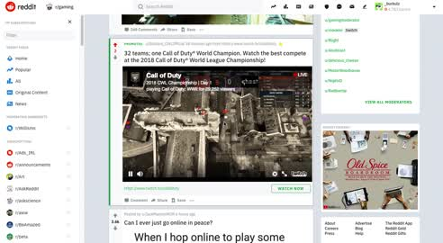 Image For Chris Khosrovanis LinkedIn Activity Called Blizzard Entertainment Live Streaming The Call Of Duty
