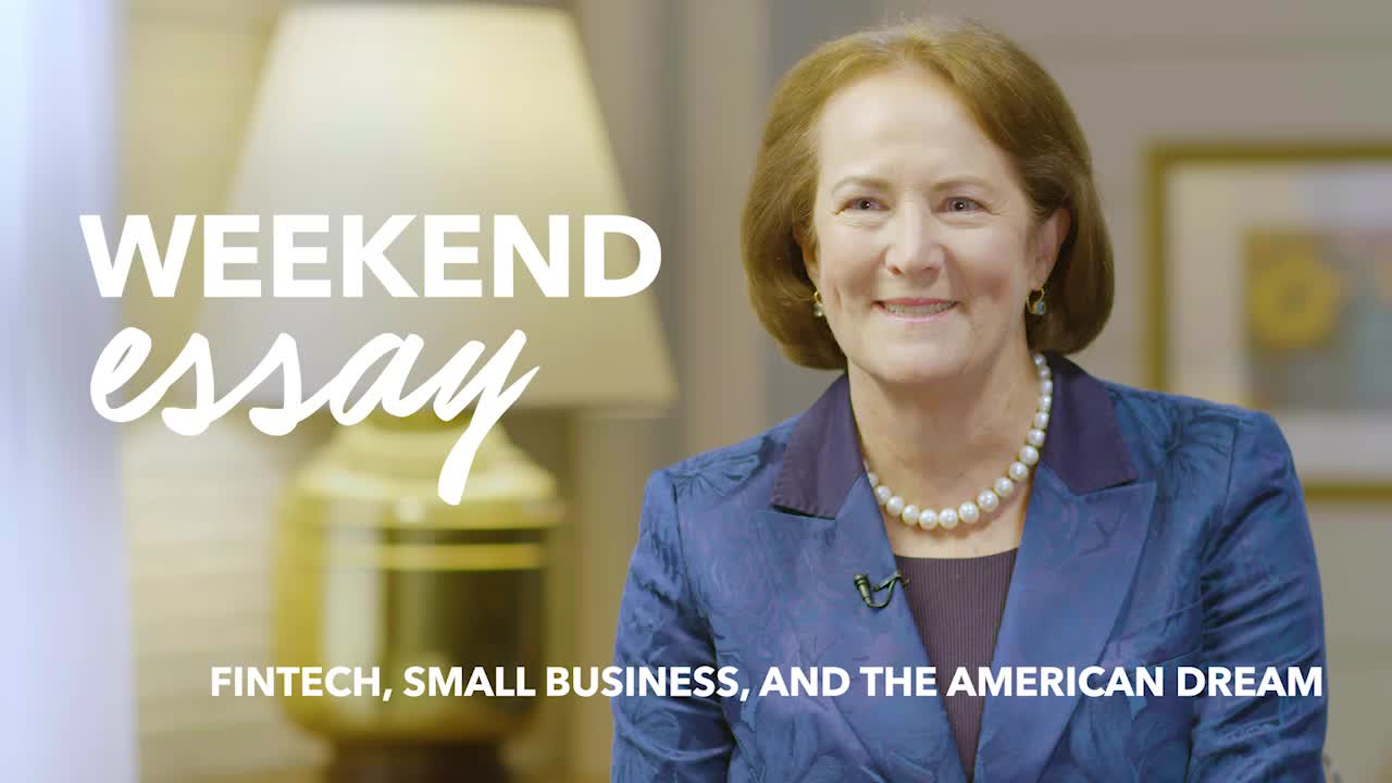 """Jordyn Dahl on LinkedIn: """"In the aftermath of the global financial crisis, lending for small businesses dried up. In its place, online lenders have cropped up to fill in the gaps, but questions remain over what these new options mean for underserved small businesses and how regulators should approach predatory practices in the space. I sat down with Karen G. Mills, the former head of the Small Business Administration and author of """"Fintech, Small Business and the American Dream,"""" to discuss how fintech might level the lending playing field. Mills said a disproportionate amount of SBA loans went to women and minority-owned businesses, the majority of which should have been eligible for a loan from a traditional lender. The hope is that by using artificial intelligence and digital platforms, these new financial upstarts will close the lending gap. But it's not just discriminatory practices that fintech will need to stomp out. In a #WeekendEssay, Gwendy Donaker Brown writes about how some predatory practices have encroached into fintech and offers solutions for how to fix it: https://lnkd.in/gfrCrrC What's your take? Has your business received a loan from a fintech company? What approach should regulators take toward the lending space? #LinkedInSmallBusiness #LinkedInVideo #smallbusinessweek #fintech"""""""